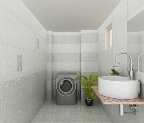 lựa chọn gạch lát nền dựa vào kích thước phòng
