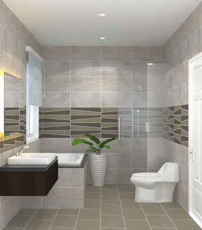 Chọn gạch Granite để ốp lát nhà tắm