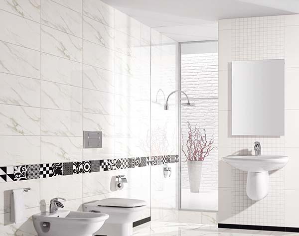 Các mẫu gạch ốp tường 30x60 màu trắng HOT 2020
