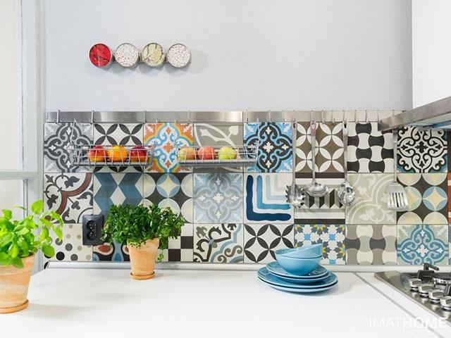Gạch ốp tường bếp 30×60 Porcelain