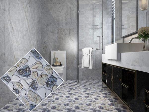 10+ mẫu gạch lát nền nhà tắm giả sỏi được yêu thích nhất hiện nay 1