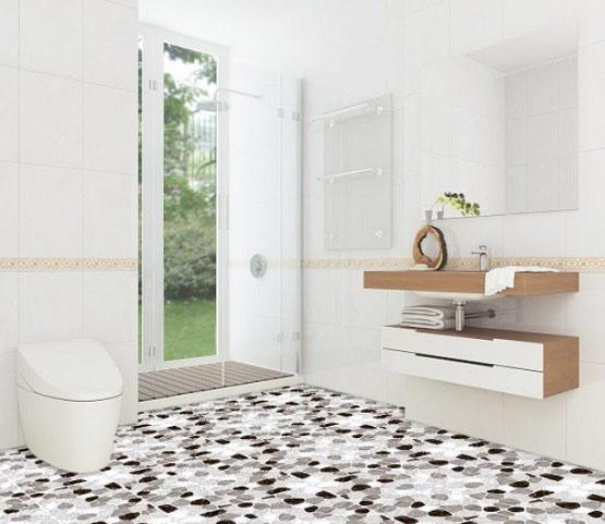 10+ mẫu gạch lát nền nhà tắm giả sỏi được yêu thích nhất hiện nay 7