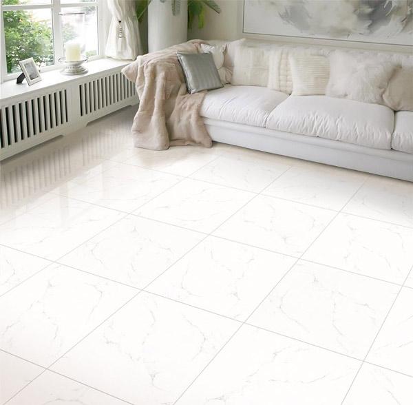 TOP mẫu gạch lát nền phòng khách màu trắng đẹp - sang nên chọn 2021 1