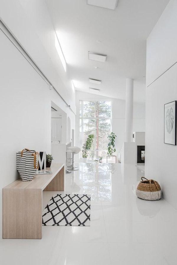 TOP mẫu gạch lát nền phòng khách màu trắng đẹp - sang nên chọn 2021 5