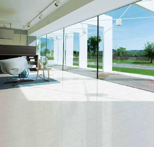 TOP mẫu gạch lát nền phòng khách màu trắng đẹp - sang nên chọn 2021 6