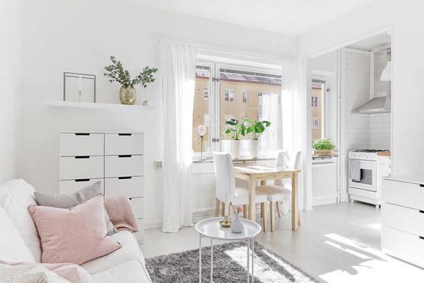 TOP mẫu gạch lát nền phòng khách màu trắng đẹp - sang nên chọn 2021 7