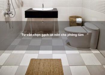 gạch lát nên nhà tắm màu ghi